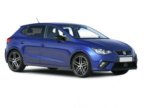 seat ibiza hatchback 1.0 tsi 95 se technology [ez] 5dr 2018 front three quarter