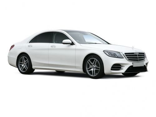 mercedes-benz s class saloon s450l amg line 4dr 9g-tronic 2018 front three quarter