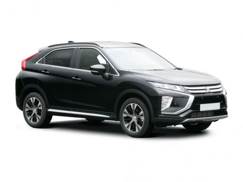 mitsubishi eclipse cross hatchback 1.5 dynamic 5dr cvt 4wd 2019 front three quarter