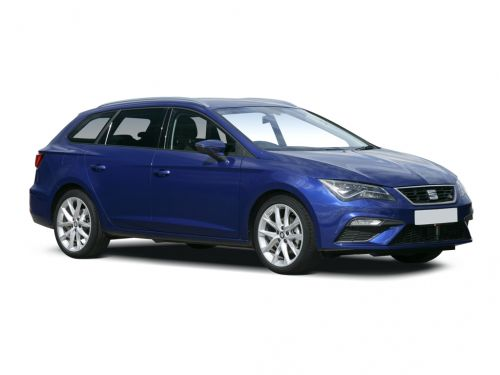 seat leon diesel estate 2019 front three quarter