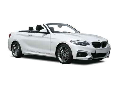 bmw 2 series convertible 218i m sport 2dr [nav] step auto 2017 front three quarter