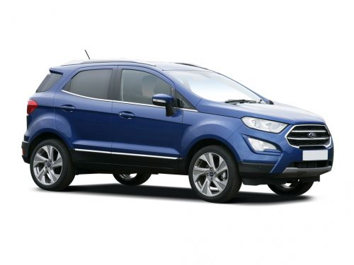 ford ecosport hatchback 1.0 ecoboost zetec navigation 5dr 2018 front three quarter
