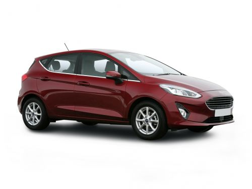 ford fiesta hatchback 1.0 ecoboost 95 trend 5dr 2019 front three quarter