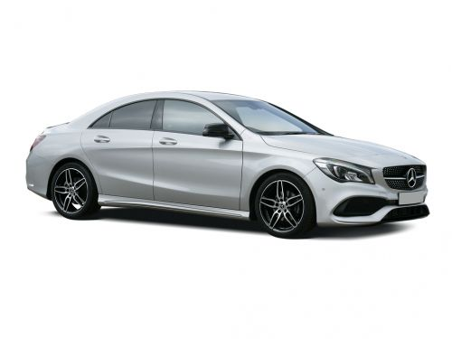 Mercedes Benz Cla Cl Coupe 200 Amg Line Night Edition Plus 4dr 2018 Front