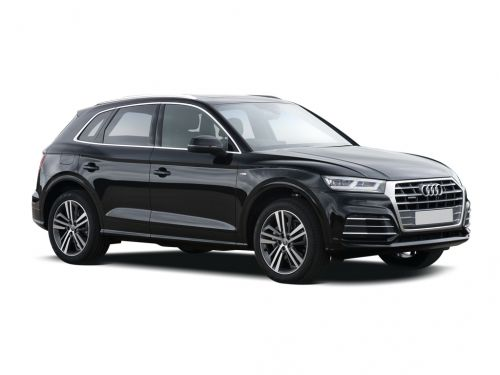 audi q5 diesel estate 40 tdi quattro black edition 5dr s tronic 2018 front three quarter