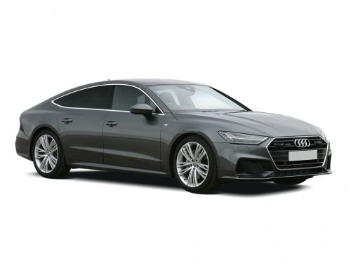 audi a7 sportback 55 tfsi quattro black edition 5dr s tronic 2019 front three quarter