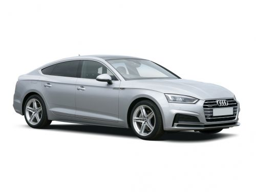 audi a5 sportback 40 tfsi black edition 5dr 2018 front three quarter