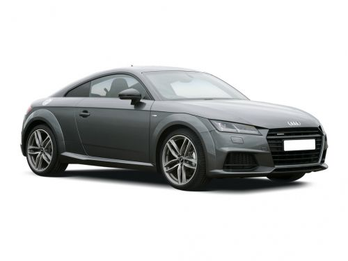 audi tt coupe special editions 1.8t fsi black edition 2dr s tronic 2017 front three quarter
