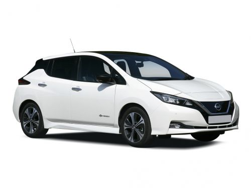 nissan leaf hatchback 110kw acenta 40kwh 5dr auto [6.6kw charger] 2019 front three quarter