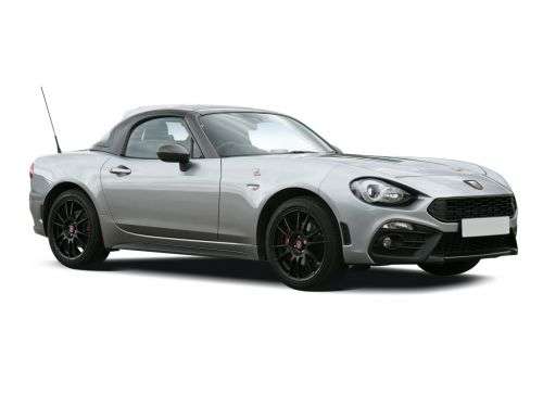 abarth 124 spider roadster special edition 1.4 t multiair gt 2dr 2018 front three quarter