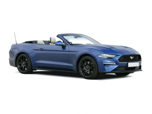 ford mustang convertible 2.3 ecoboost 2dr 2018 front three quarter