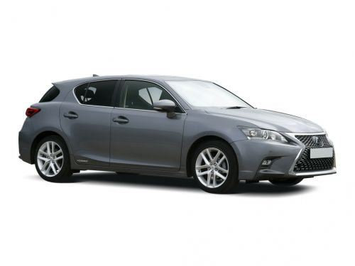 lexus ct hatchback 200h 1.8 5dr cvt [premium/tech pack] 2018 front three quarter