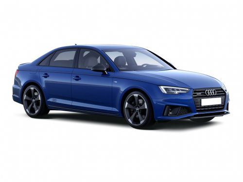 lease the audi a4 saloon 35 tfsi black edition 4dr. Black Bedroom Furniture Sets. Home Design Ideas