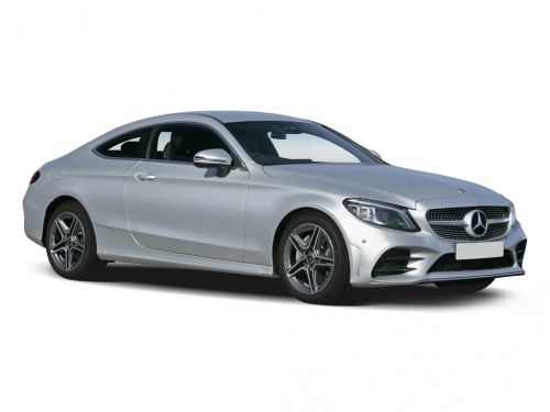 mercedes-benz c class coupe c200 amg line 2dr 9g-tronic 2018 front three quarter