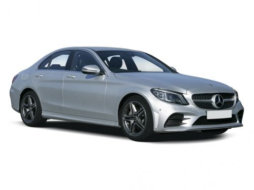 mercedes-benz c class saloon c300 amg line 4dr 9g-tronic 2018 front three quarter