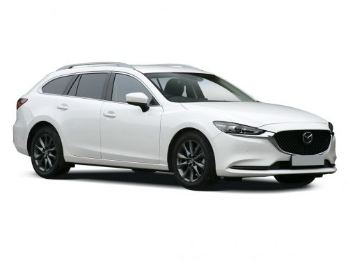 mazda mazda6 diesel tourer 2.2d [184] sport nav+ 5dr [safety pack] 2018 front three quarter