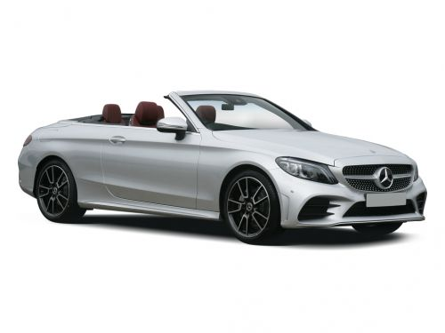 mercedes-benz c class cabriolet c180 amg line 2dr 2018 front three quarter