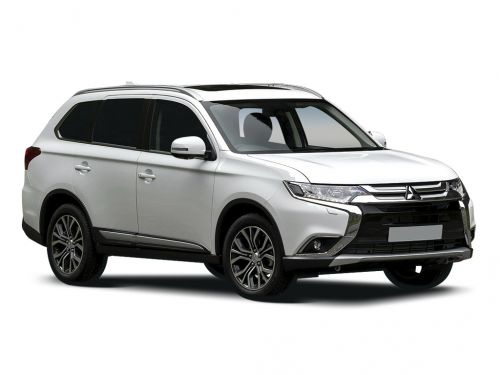 mitsubishi outlander estate 2.4 phev juro 5dr auto 2018 front three quarter
