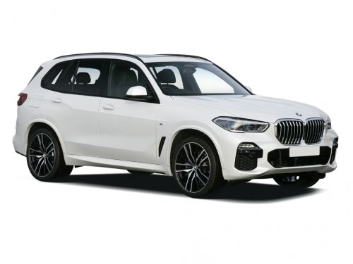 bmw x5 estate xdrive40i m sport 5dr auto [tech pack] 2019 front three quarter