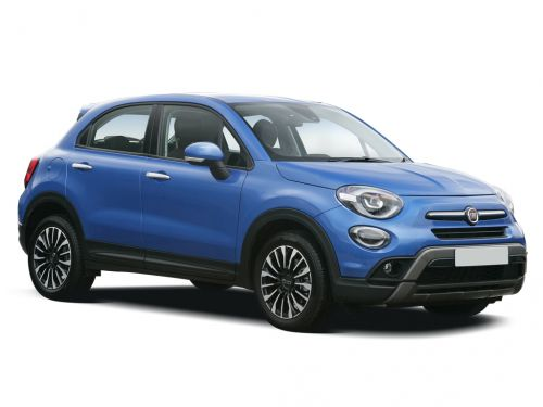 fiat 500x hatchback 1.3 cross plus 5dr dct 2018 front three quarter