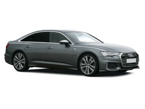 audi a6 saloon 50 tfsi e 17.9kwh qtro s line 4dr s tronic [c+s] 2021 front three quarter