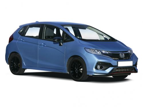 honda jazz hatchback 1.3 i-vtec s 5dr cvt 2017 front three quarter