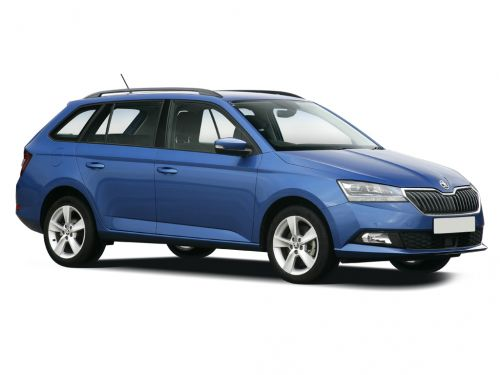 skoda fabia estate 1.0 tsi se l 5dr 2018 front three quarter