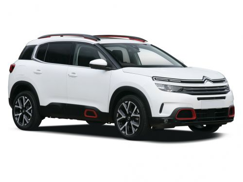 citroen c5 aircross diesel hatchback 1.5 bluehdi 130 flair 5dr 2018 front three quarter