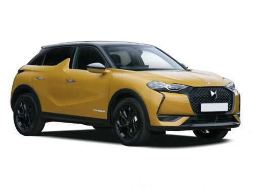 ds ds 3 diesel crossback hatchback 1.5 bluehdi performance line 5dr 2019 front three quarter