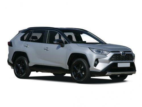 toyota rav4 estate 2.5 vvt-i hybrid excel 5dr cvt [pan roof] 2019 front three quarter