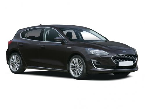 ford focus vignale diesel hatchback 1.5 ecoblue 120 5dr 2018 front three quarter