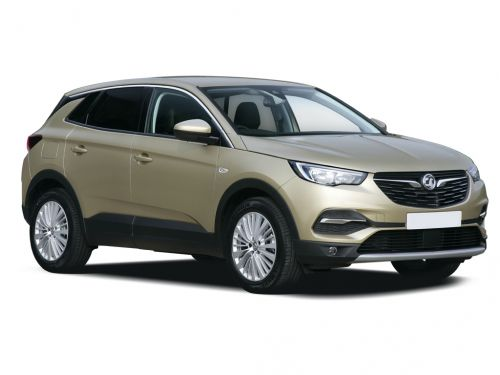 vauxhall grandland x hatchback 1.2 turbo griffin 5dr auto 2019 front three quarter