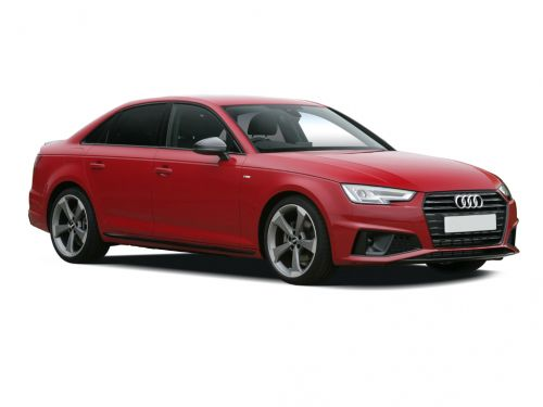 audi a4 saloon 35 tfsi black edition 4dr 2019 front three quarter
