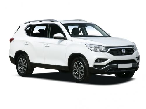 ssangyong rexton diesel estate 2.2 ex 5dr 2017 front three quarter