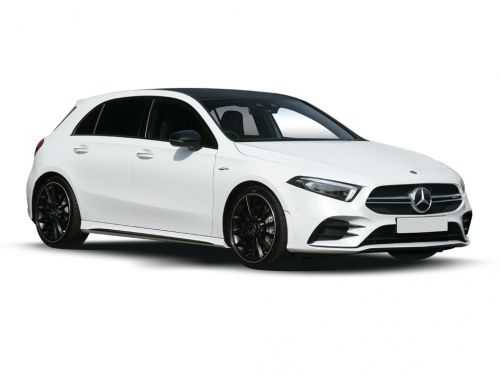 mercedes-benz a class amg hatchback a45 s 4matic+ plus 5dr auto 2019 front three quarter
