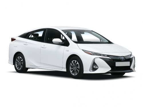 toyota prius hatchback 1.8 vvti business edition plus 5dr cvt 2019 front three quarter