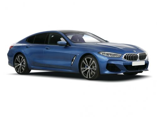 bmw 8 series diesel gran coupe 840d xdrive 4dr auto 2019 front three quarter