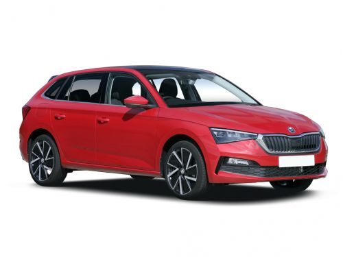 skoda scala hatchback 1.0 tsi se l 5dr 2019 front three quarter