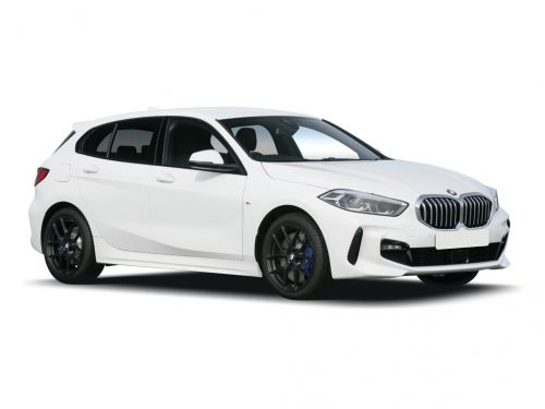bmw 1 series hatchback 118i m sport 5dr step auto - new model 2019 front three quarter