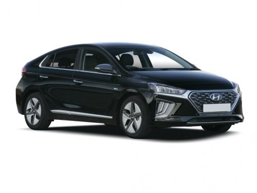 hyundai ioniq hatchback 1.6 gdi hybrid se connect 5dr dct 2019 front three quarter