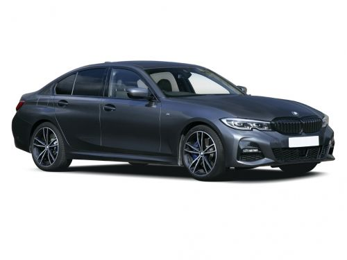 bmw 3 series diesel saloon 318d sport 4dr 2019 front three quarter