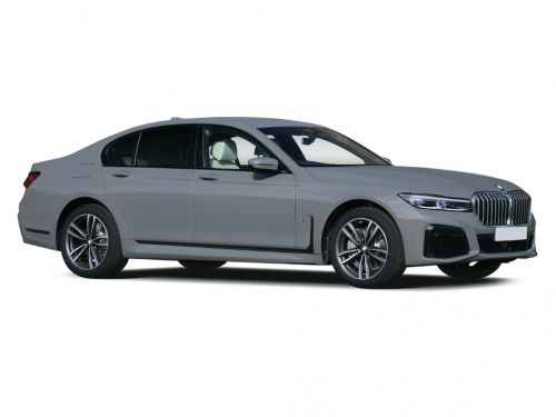 bmw 7 series diesel saloon 730d mht m sport 4dr auto [ultimate pack] 2020 front three quarter