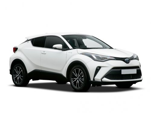 toyota c-hr hatchback 1.8 hybrid icon 5dr cvt 2019 front three quarter