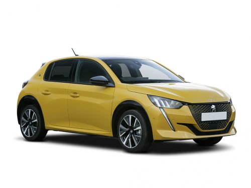 peugeot e-208 electric hatchback 100kw gt 50kwh 5dr auto 2019 front three quarter