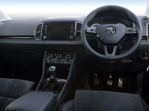 lease the skoda karoq diesel estate 1 6 tdi se l 5dr leasecar uk