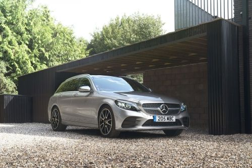 MERCEDES-BENZ C CLASS ESTATE SPECIAL EDITIONS C300e AMG Line Night Edition Premium 5dr 9G-Tronic view 6