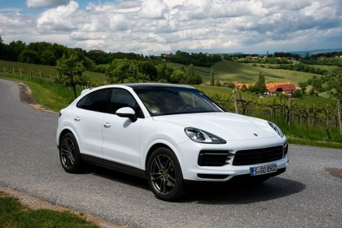 PORSCHE CAYENNE COUPE Turbo 5dr Tiptronic S view 6