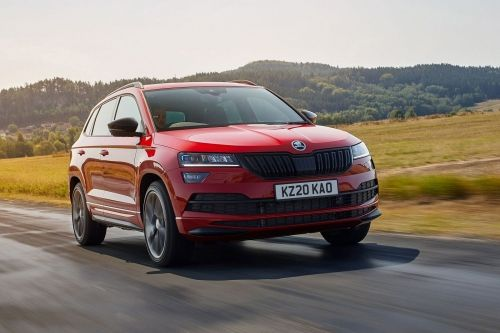 SKODA KAROQ ESTATE 1.5 TSI SE Technology 5dr view 2