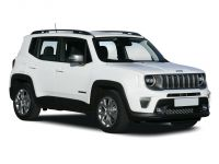 jeep renegade hatchback special edition 1.0 t3 gse night eagle ii 5dr 2019 front three quarter
