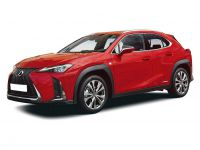 lexus ux hatchback 250h 2.0 5dr cvt [premium plus] 2019 front three quarter